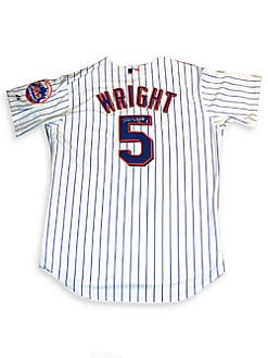 Steiner Sports - David Wright Autographed New York Mets Authentic Home Pinstripe Jersey