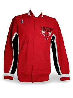 Steiner Sports - Michael Jordan Autographed Warm-Up Jacket