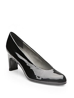 Stuart Weitzman - Chicpump Patent Leather Pumps