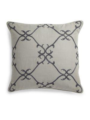 Solari Embellished Linen Pillow