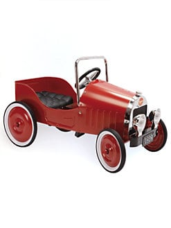 Baghera - Classic Red Pedal Car