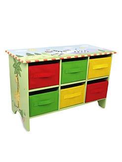 Teamson - Sunny Safari Storage Cubby Unit