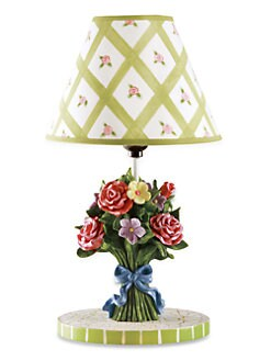 Teamson - Bouquet Table Lamp