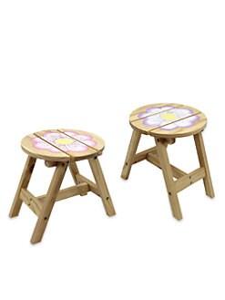 Teamson - Magic Garden Outdoor Chairs/Set of 2