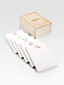 Charles Fradin Home - Personalized Culinary Note Pad Set