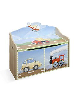 Teamson - Transportation Toy Chest