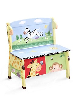 Teamson - Sunny Safari Storage Bench