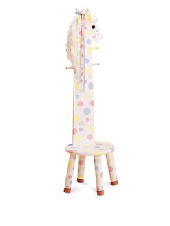 Teamson - Pony Animal Stool/Coat Rack