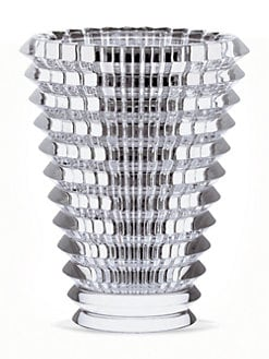 Baccarat - Eye Crystal Vase/9.5