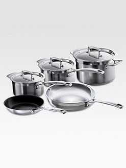Le Creuset - 8-Piece Stainless Steel Cookware Set
