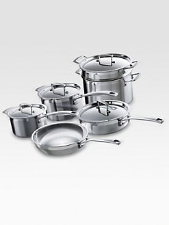 Le Creuset - 10-Piece Stainless Steel Cookware Set