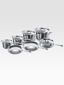 Le Creuset - 12-Piece Stainless Steel Cookware Set