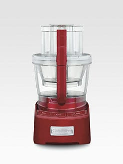 Cuisinart - Elite Collection 12-Cup Food Processor/Red
