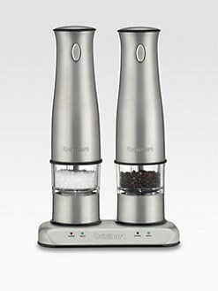 Cuisinart - Rechargeable Salt & Pepper Mills