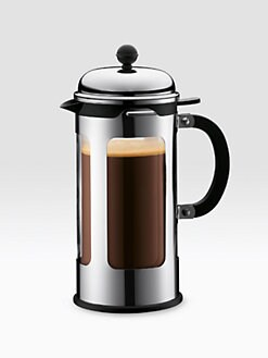 Bodum - Chambord French Press/Silver - 34oz.