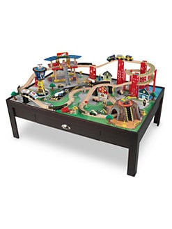 KidKraft - Metropolis Train Set & Table