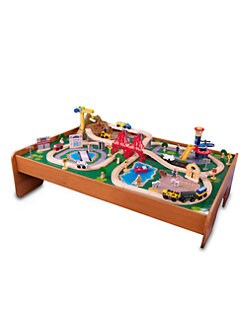 KidKraft - Ride Around Town Train Set &Table