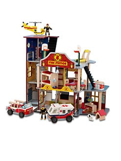 KidKraft - Deluxe Fire Rescue Set