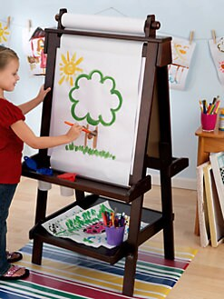 KidKraft - Deluxe Wood Easel