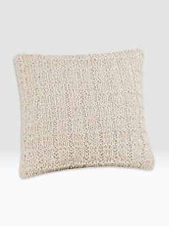 Natori - Soho Square Knit Accent Pillow