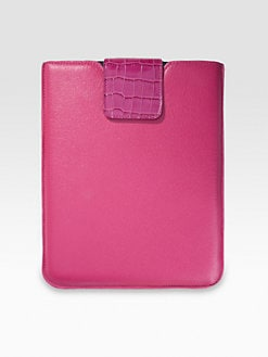 Graphic Image - Leather iPad Sleeve