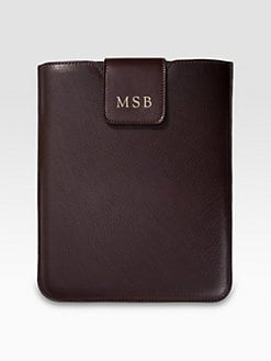 Graphic Image - Personalized Leather iPad Sleeve