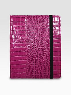 Graphic Image - Croco Leather Case for iPad