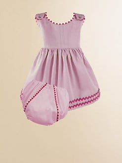 Princess Linens - Personalized Toddler Girl's Garden Dress