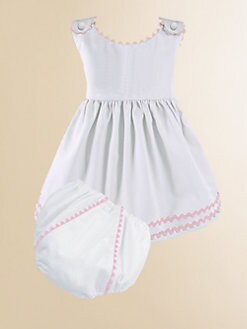 Princess Linens - Personalized Infant Girl's Garden Dress