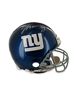 Steiner Sports - Eli Manning Signed Football Helmet