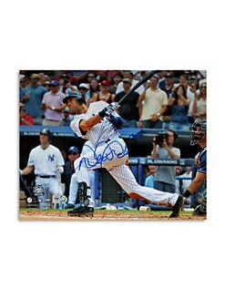 Steiner Sports - Derek Jeter 3000th Hit Autographed Photo
