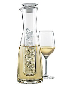 Wine Enthusiast - 2-Piece Wine Chilling Carafe