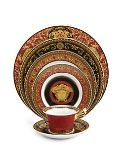 Versace - Medusa Red Service Plate