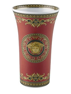 Versace - Medusa Red Vase/Red