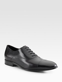Salvatore Ferragamo - Captoe Lace-Ups