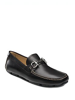 Salvatore Ferragamo - Parigi Leather Drivers