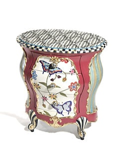 MacKenzie-Childs - Butterfly Accent Chest