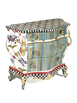 MacKenzie-Childs - Butterfly Large Chest