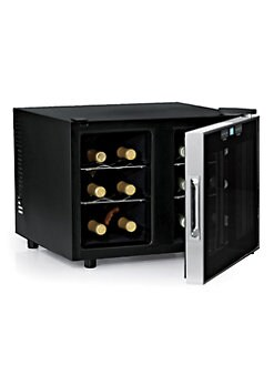 Wine Enthusiast - Silent 12 Bottle Dual-Zone Touchscreen Wine Refrigerator