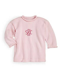 MJK Knits - Monogrammed Pullover/Pink
