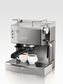 De'Longhi - Stainless Steel 15-Bar Pump Espresso/Cappuccino Maker
