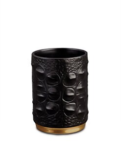 L'Objet - Crocodile Porcelain Pencil Cup