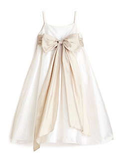 Us Angels - Toddler's & Little Girl's Silky Taffeta Dress