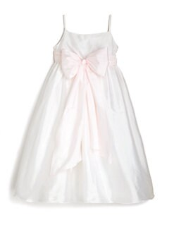 Us Angels - Girl's Silky Taffeta Dress
