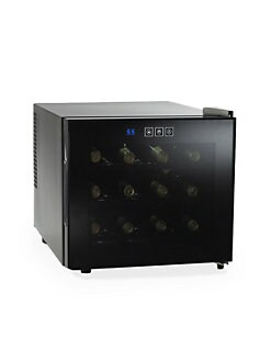 Wine Enthusiast - 12-Bottle Touchscreen Wine Refrigerator