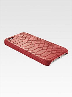 GiGi New York - Python-Embossed Leather iPhone 5 Case