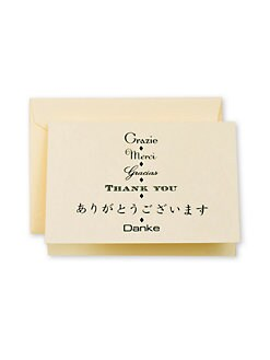Crane & Co. - Multilingual Thank You Note Cards
