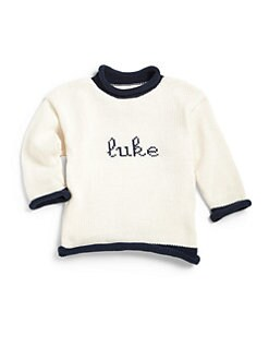 MJK Knits - Infant's Personalized Name Sweater