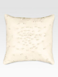 DKNY - Pure Plisse Knots Decorative Pillow