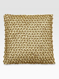Donna Karan - Modern Classics Goldleaf Star Decorative Pillow